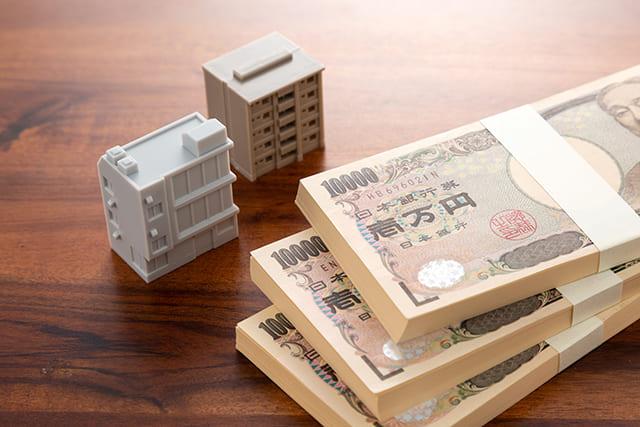 マンション模型とお金